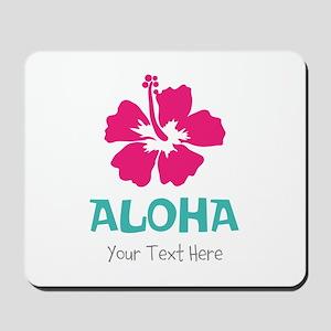 Hawaiian flower Aloha Mousepad