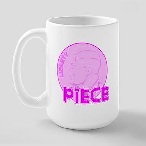 DIME Piece Pink Large Mug