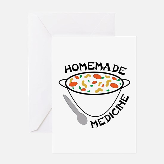 Homemade Medicine Greeting Cards