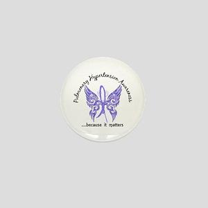 Pulmonary Hypertension Butterfly 6.1 Mini Button