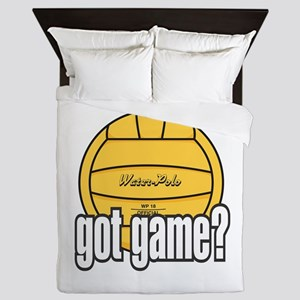 Water Polo Got Game? Queen Duvet