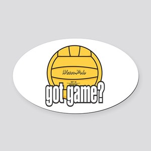 Water Polo Got Game? Oval Car Magnet