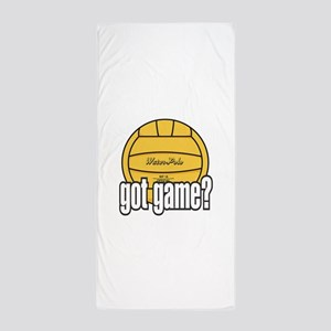 Water Polo Got Game? Beach Towel
