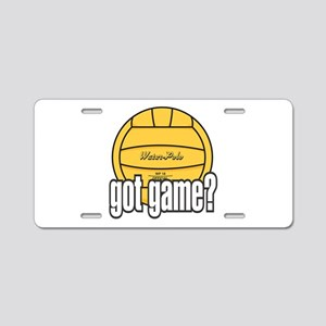 Water Polo Got Game? Aluminum License Plate