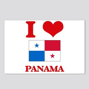 I Love Panama Postcards (Package of 8)