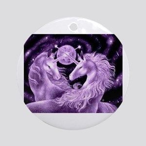 Unicorn Ornament (Round)