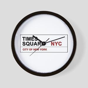 Times Square New York City Pro Photo Wall Clock
