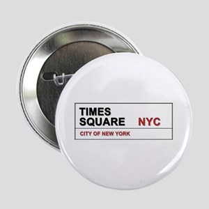 "Times Square New York City Pro Photo 2.25"" Button"