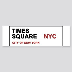 Times Square New York City Pro Ph Sticker (Bumper)