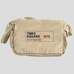 Times Square New York City Pro Photo Messenger Bag