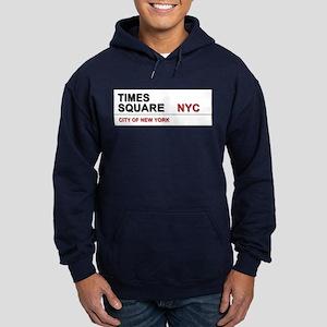 Times Square New York City Pro Photo Hoodie (dark)