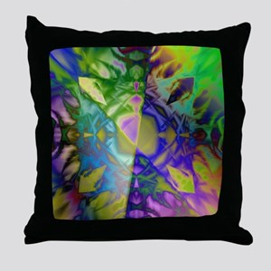 Refraction. Throw Pillow