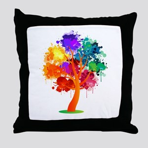 Different Not Less Throw Pillow