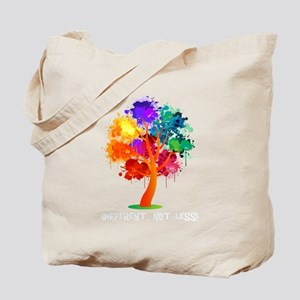 Different Not Less Tote Bag