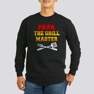 Papa The Grill Master Long Sleeve T-Shirt