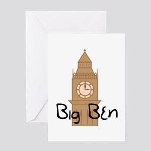 Big Ben 2 Greeting Cards