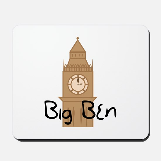 Big Ben 2 Mousepad