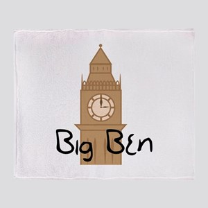 Big Ben 2 Throw Blanket