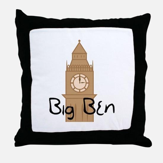 Big Ben 2 Throw Pillow