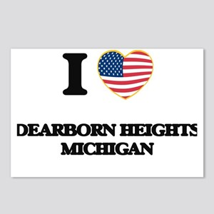 I love Dearborn Heights M Postcards (Package of 8)