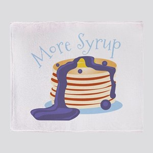 More Syrup Throw Blanket