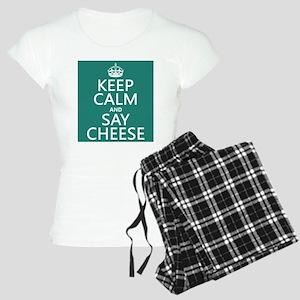 Keep Calm and Say Cheese pajamas