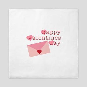 Happy Valentines Day Queen Duvet