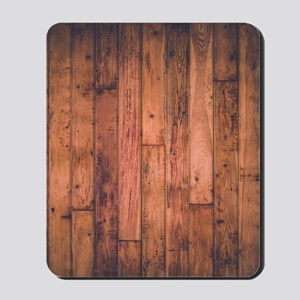 Old Wood Planks Mousepad