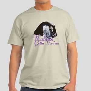 Nubian Goat Gotta Love 'em Light T-Shirt