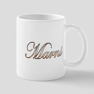 Gold Marni Mugs