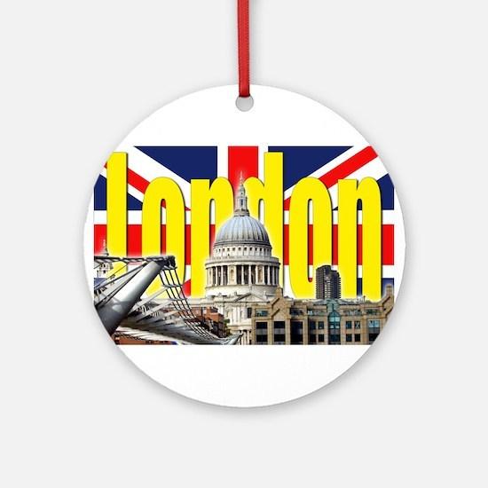LONDON Professional Photo Ornament (Round)
