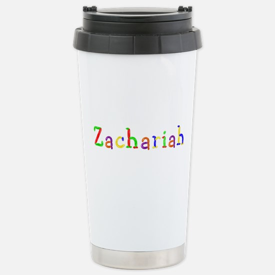 Zachariah Balloons Ceramic Travel Mug