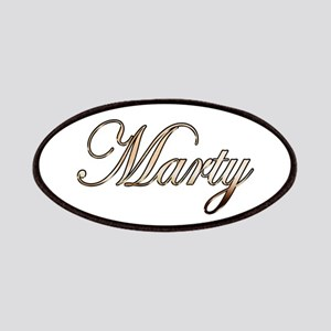 Gold Marty Patch