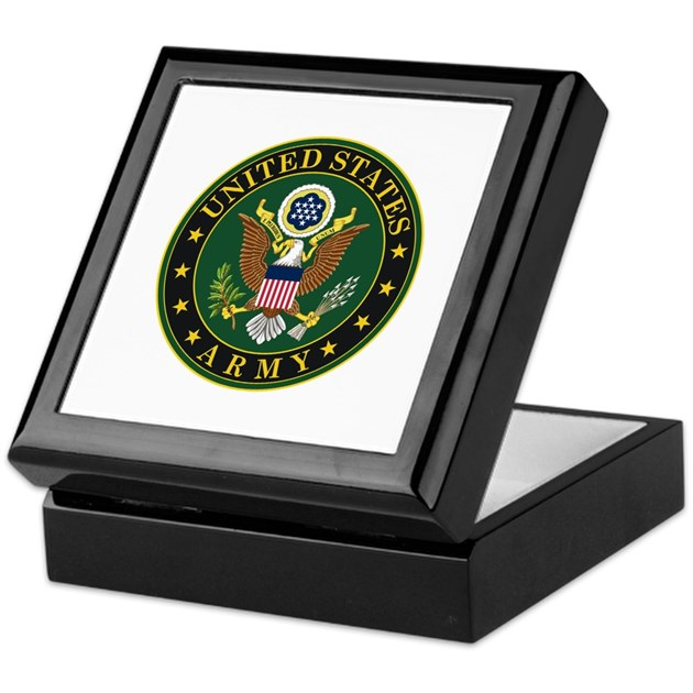 Us Army Army Symbol Keepsake Box By Worldflagsandbanners1