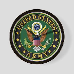 U.S. Army: Army Symbol Wall Clock
