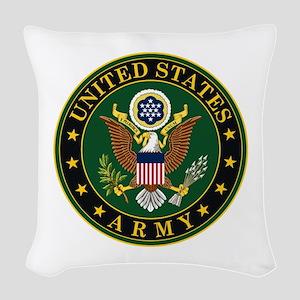U.S. Army: Army Symbol Woven Throw Pillow