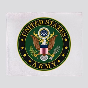U.S. Army: Army Symbol Throw Blanket