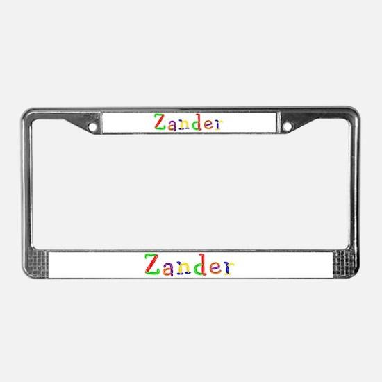 Zander Balloons License Plate Frame