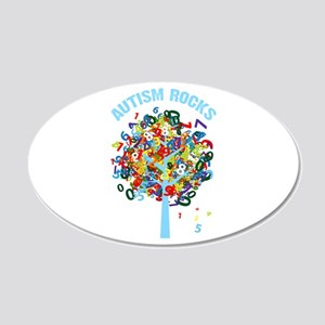 Autism Rocks Wall Decal