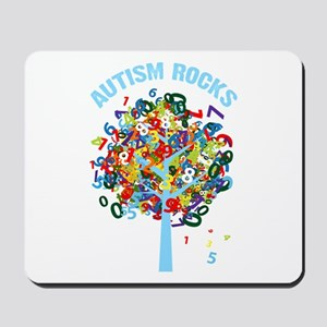 Autism Rocks Mousepad