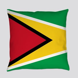Flag of Guyana Everyday Pillow