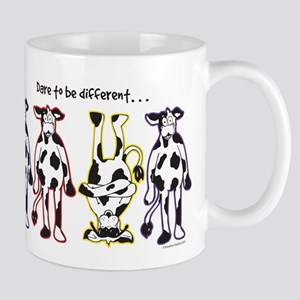 Dare to be Different Cows Mugs