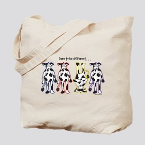 Dare to be Different Cows Tote Bag
