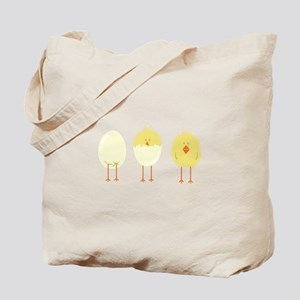 Hatched Chick Tote Bag
