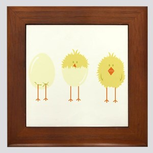 Hatched Chick Framed Tile
