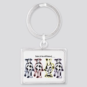Dare to be Different Cows Keychains
