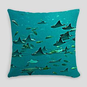 Stingrays Everyday Pillow