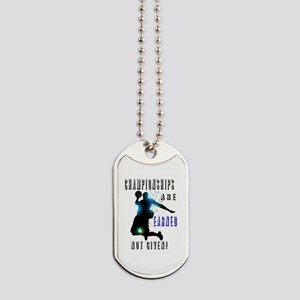 Championships earned Dog Tags