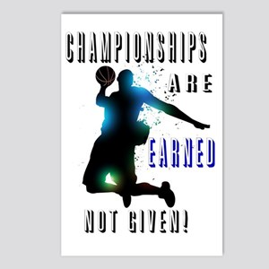 Championships earned Postcards (Package of 8)