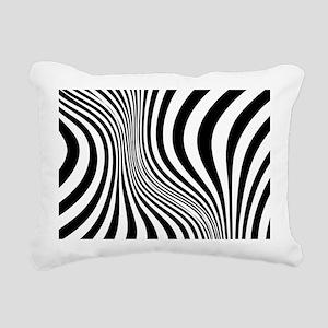 Zebra Rectangular Canvas Pillow